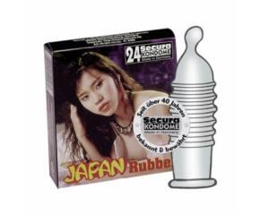 Secura Japan Rubber óvszer 1 db