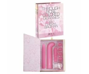 Book Smart - Könyvnek álcázott vibrátor készlet - Pink