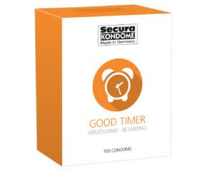 Secura Good Timer - ejakuláció késleltető óvszerek  1db