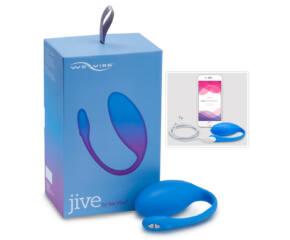 We-Vibe Jive - akkus, okos vibrotojás - Kék