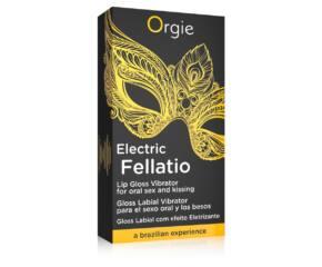 Orgie Electric Fellation - bizsergető szájfény (10ml)