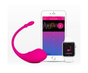 Lovense Lush - újratölthető vibrotojás - Pink