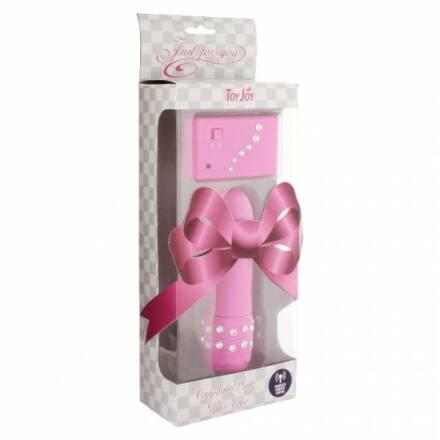 Távirányítós Crystal Mini Vibe - Pink